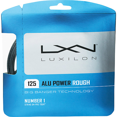 LUXILON Big Banger ALU Power Rough 1.25 Tennis String Set