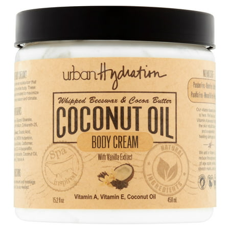 Cocoa My Coconut - Urban Hydration Whipped Beeswax & Cocoa Butter Coconut Oil Body Cream, 15.2 fl oz