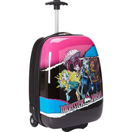 Monster High Signature Hard Shell ABS Trolley Carry On - High Sierra Carry On Luggage