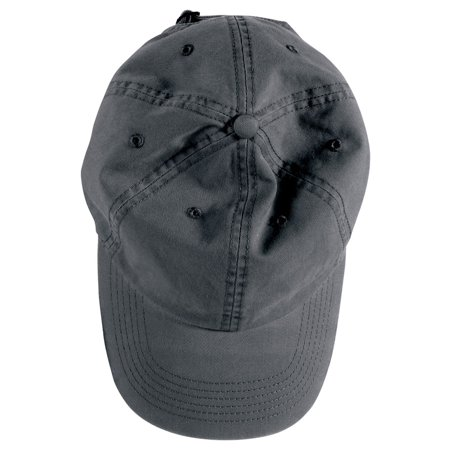 - Authentic Pigment Direct-Dyed Cotton Twill Cap, Black, One Size, Style, 1912