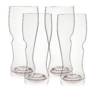 16 oz. Classic Beer Glass Top Rack Series 4 Pack by govino