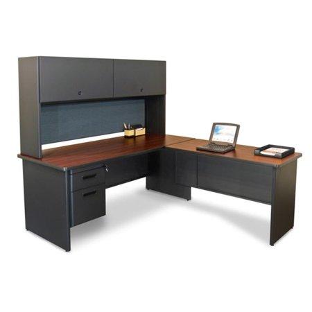 Marvel PRNT4UTOK 8559 72W x 78D Pronto Desk with Return - Putty-Peridot