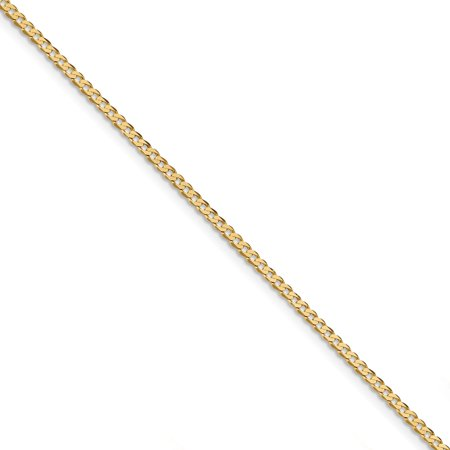 14k 2.3mm Beveled Curb Chain (Weight: 2.41 Grams, Length: 8 Inches) - image 4 of 4