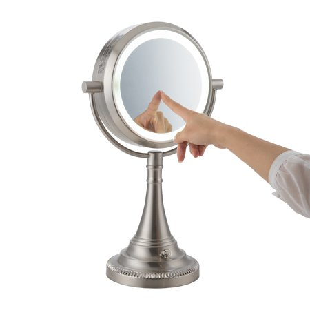 - ETL listed 1X / 10X Magnification Lighted Mirror Makeup Lamp with A 13W Bulb