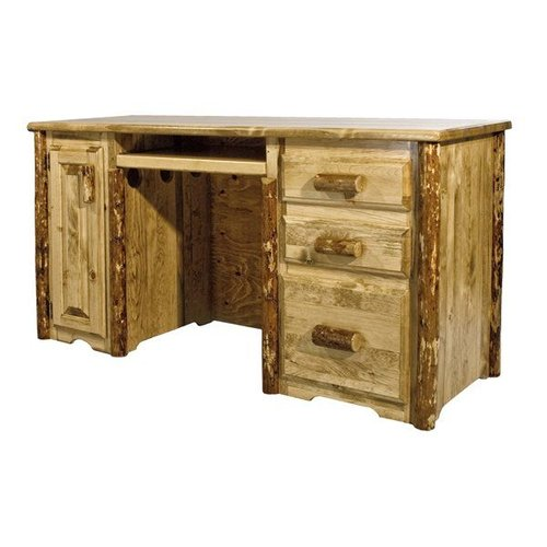 Montana Woodworks MWGCDP Glacier Country Computer Desk