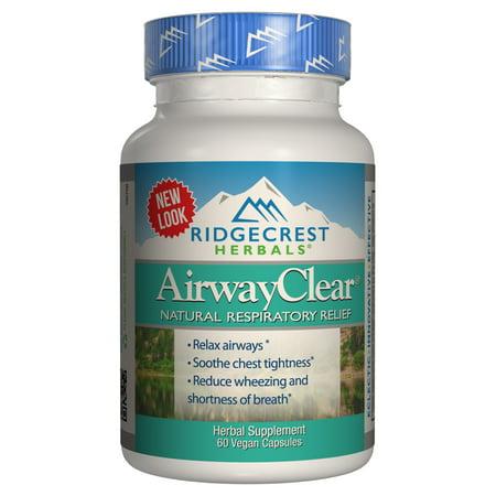 Ridgecrest Herbals AirwayClear, 60 capsules (P Black Capsules)