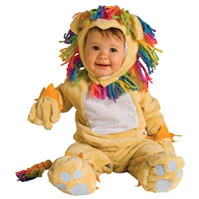 uhc baby's fearless lil lion outfit newborn infant halloween costume, 12-18m - Newborn Halloween Outfit