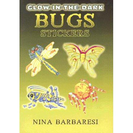 Glow-In-The-Dark Bugs Stickers