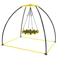JumpKing Backyard UFO Multidirectional Twisting and Turning Swing