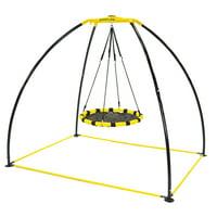 Deals on JumpKing Backyard UFO Multidirectional Twisting and Swing