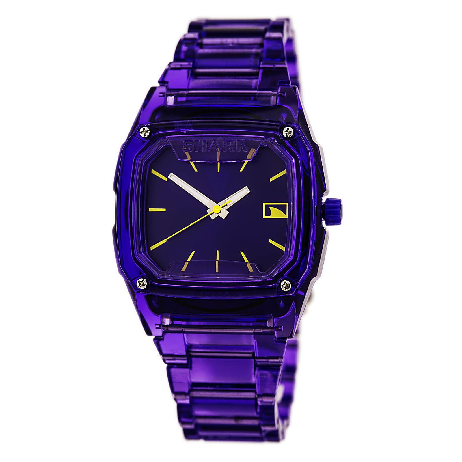 Freestyle 101989 Women's Shark Classic Candy Purple Dial Purple Polycarbonate Bracelet Watch