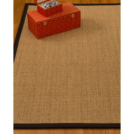 Handmade Collection (NaturalAreaRugs Carmel Collection Sisal Area Rug, Handmade in USA, 100% Sisal, Non-Slip Latex Back, Durable, Stain Resistant, Eco/Environment-Friendly, (2 Feet 6 Inches x 8 Feet) Sage/Khaki Border)