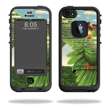 MightySkins Skin For Lifeproof iPhone 5s case - Air Force Bird | Protective, Durable, and Unique Vinyl Decal wrap cover | Easy To Apply, Remove, and Change Styles | Made in the (Best Air Jordan 5s)