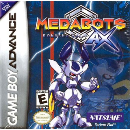 Medabots AX: Rokusho Version - Nintendo Gameboy Advance GBA (Pokemon Games For My Boy Gba Emulator)