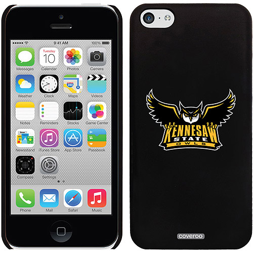Coveroo Kennesaw State Primary Mark Design Apple iPhone 5c Thinshield Snap-On Case