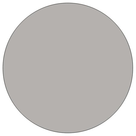 "Flash Furniture 26"" x 48"" Round High Pressure Top Mobile Activity Table in Gray - image 2 de 5"