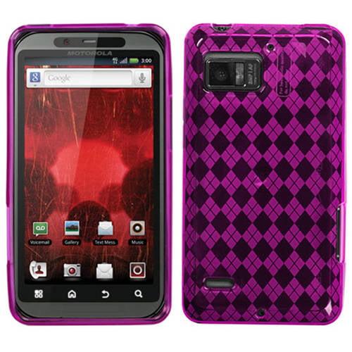 Motorola XT875 Droid Bionic MyBat Candy Skin Cover Argyle Pane