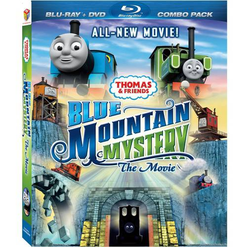 Thomas And Friends: Blue Mountain Mystery - The Movie (Blu-ray   DVD)