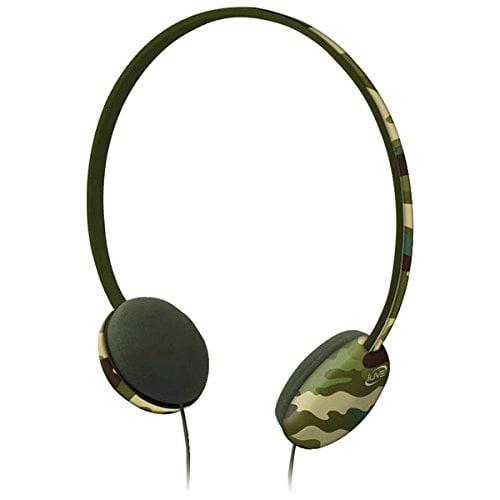 Ilive Iahk55camo Volume-limiting Headphones [camo]
