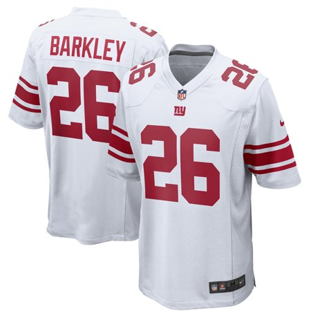 premium selection 60c09 f0a46 Saquon Barkley New York Giants Nike Game Jersey - White
