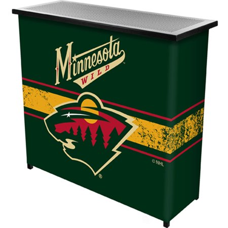 NHL Portable Bar with Carrying Case, Minnesota Wild by