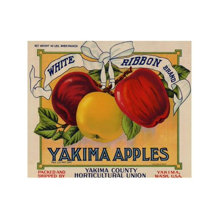 Party City Yakima (Warshaw Collection of Business Americana Food; Fruit Crate Labels, Yakima Horticultural Union Print Wall)