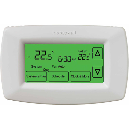 7-Day Programmable Thermostat Touchscreen