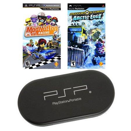 PSP STARTER 2 Game Bundle with UMD Case Holder - Limited Offer! Psp Umd Cleaning System