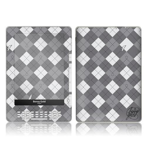 Zing Revolution MS-BG10062 Amazon Kindle DX- Benny Gold- Argyle Skin