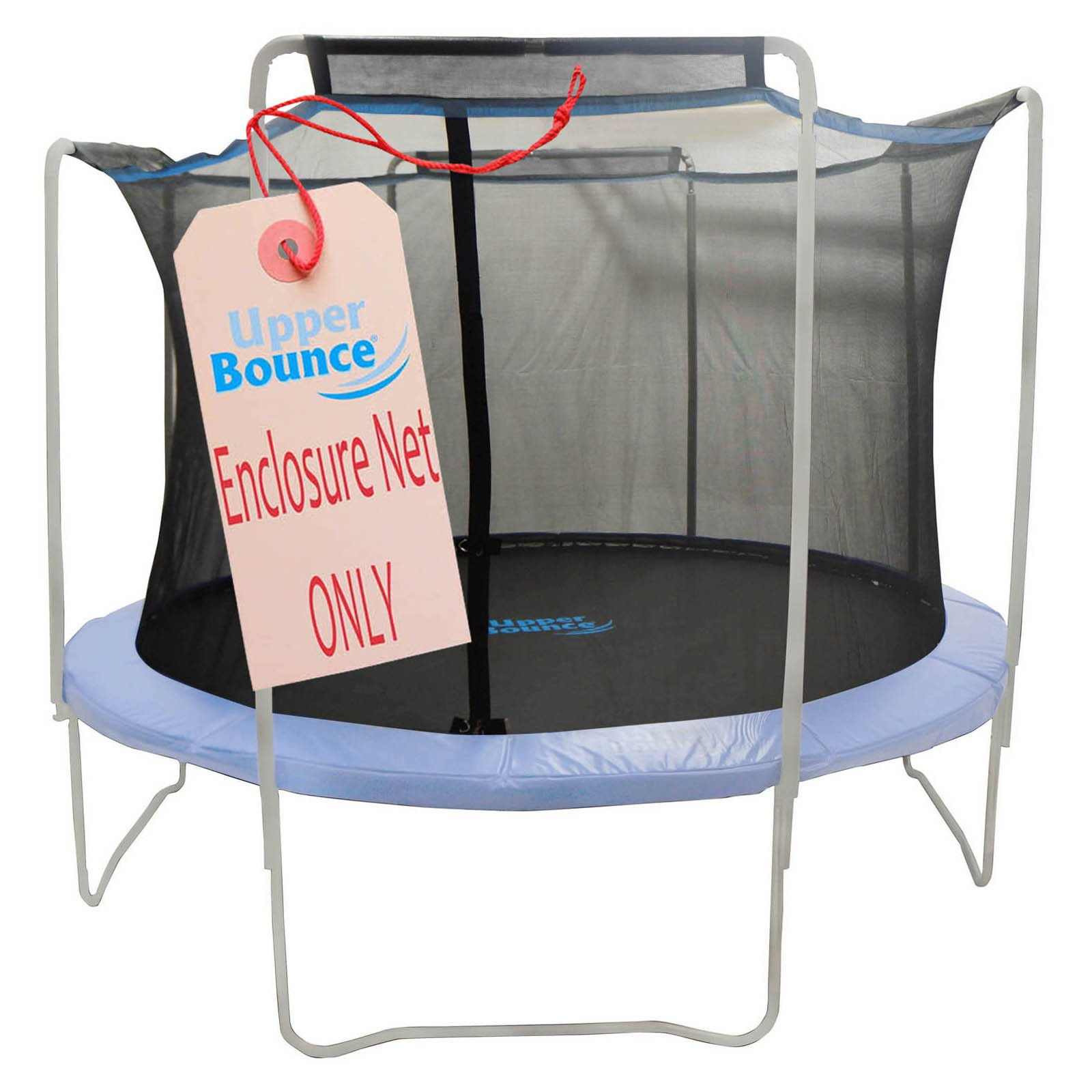 Upper Bounce 15 ft. Trampoline Enclosure Net Fit for Arches