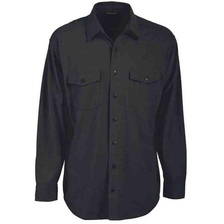 River's End Mens Chamois Shirt  Casual  Shirt - (Ccw Top End)