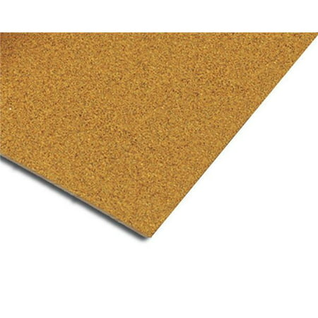 Natural Cork Underlayment 0.5 in. Sheet 150 sq. ft. - 25