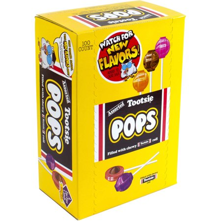 Tootsie Pops Assorted Flavors, 100 count - Tootsie Roll Dress