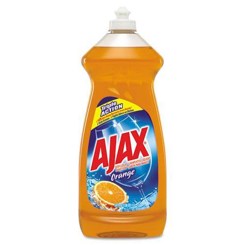 Ajax Triple Action Orange Dish Liquid/Hand Soap, 30 fl oz