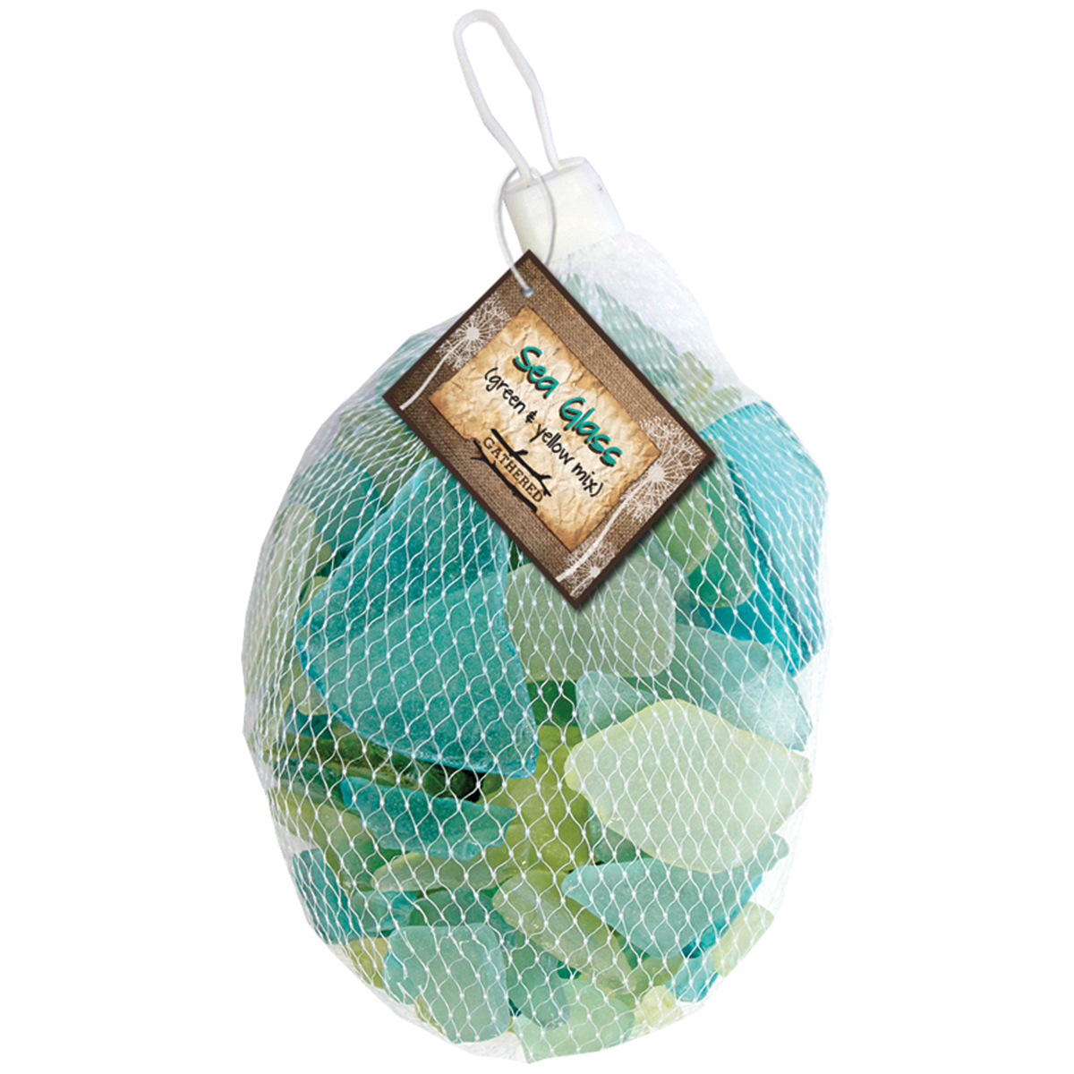 Sea Glass 12.5oz-Green & Yellow