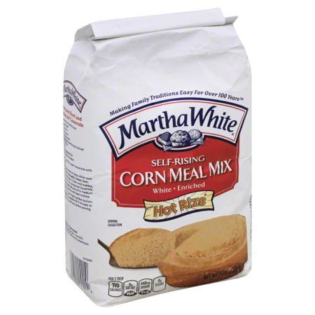 (3 Pack) Martha White Corn Meal Mix, 5.0 lb