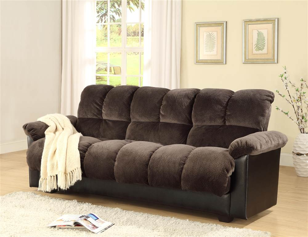 milton greens stars london storage futon sofa bed with champion fabric charcoal