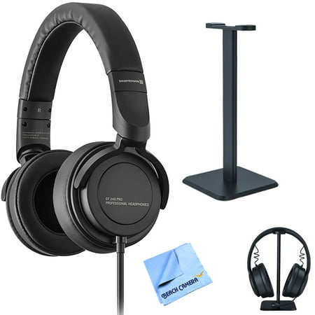 BeyerDynamic DT 240 PRO Studio Monitoring Headphones with Deco Gear Headphone Stand