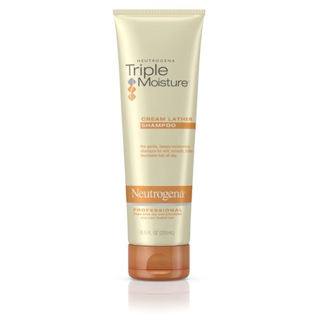 Neutrogena Triple Moisture Cream Lather Hydrating Shampoo, 8.5 fl. oz