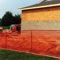 Guardian 14993-48 Lightweight Safety Fence, 100 ft L x 4 ft W, 1-1 4 X 4 in Mesh, Plastic by Warning Barrier