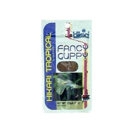 Hikari Tropical Fancy Guppy Fish Food, 0.77 Oz