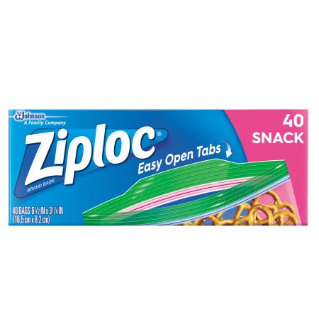 Snack Food Ideas For Halloween ((4 pack) Ziploc Snack Bags, 40)