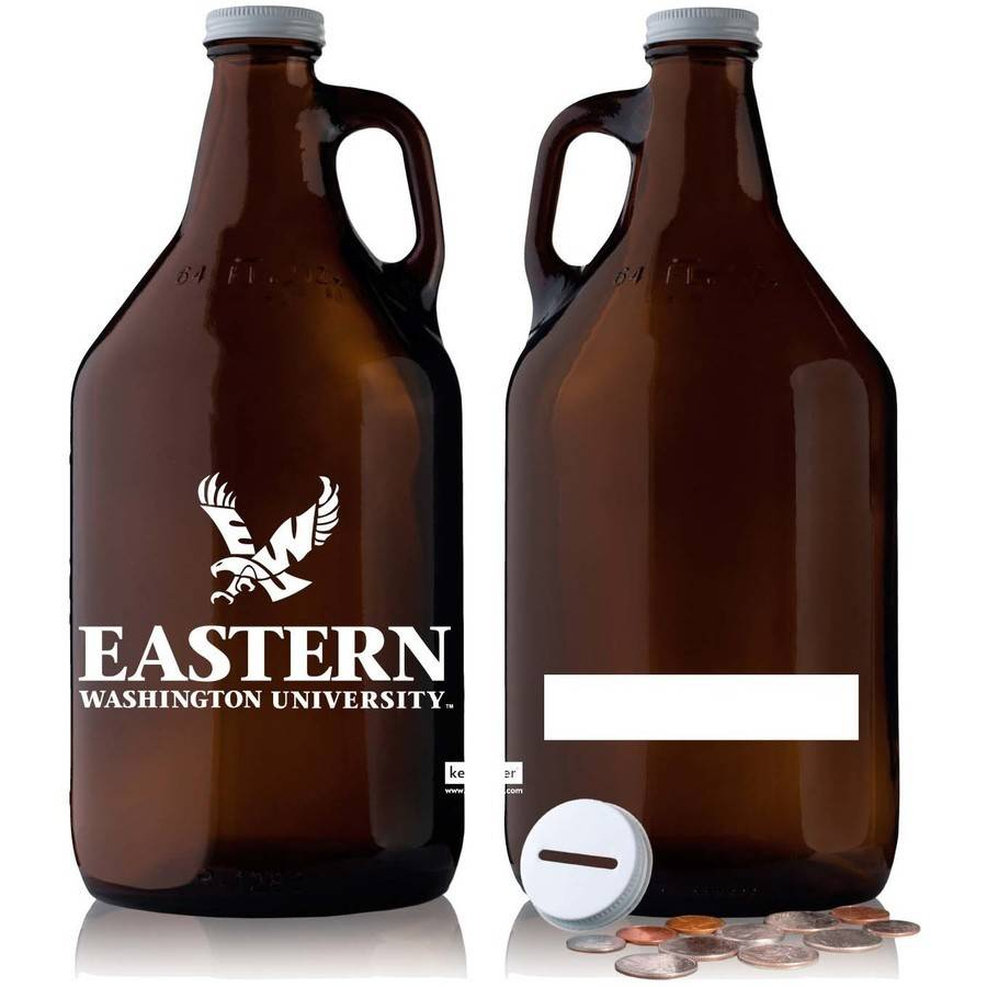 NCAA Eastern Washington Eagles 64 oz Amber Jug