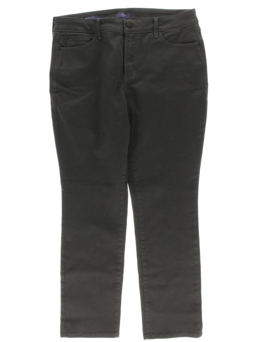 NYDJ Womens Petites Sheri Colored Slim Skinny Jeans