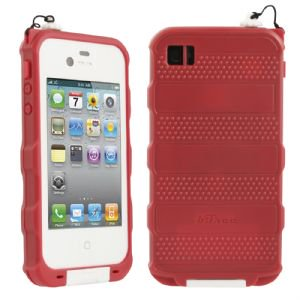 bFree Waterproof Case for Apple iPhone 4/4S (Red) - image 1 of 1