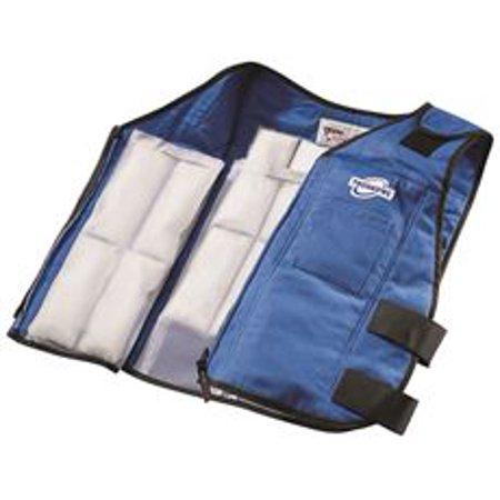 Techkewl Phase Change Cooling Vest, Blue, Medium To -