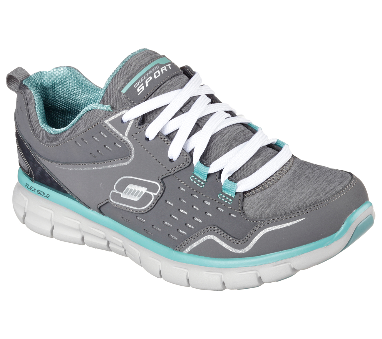 Skechers 11965CCAQ Women's SYNERGY - MODERN MOVEMENT Training Shoes