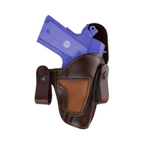 Bianchi 120 Covert Option Russet Holster, For Glock 20, 21, Size 12A, Right Hand