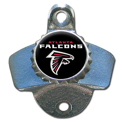 Atlanta Falcons Official NFL Wall Mounted Bottle Opener by Siskiyou 089107