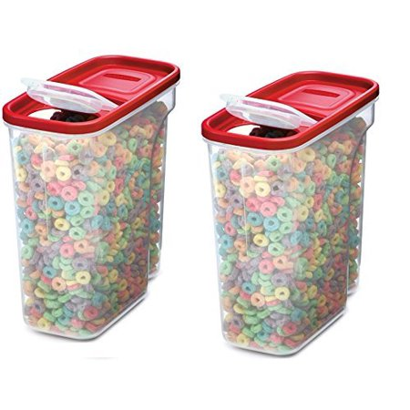 Rubbermaid Modular Cereal Keeper Ergonomic Grip 18 Cup (Pack Of